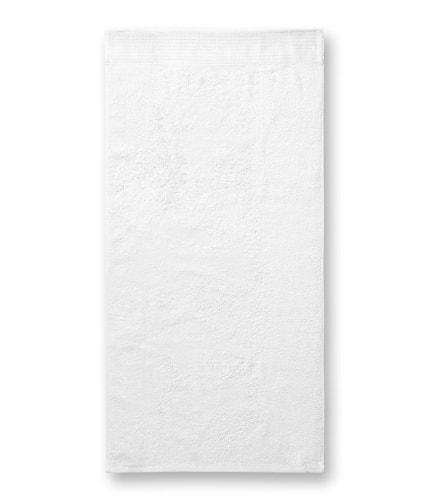 Ručník Bamboo Towel - Bílá | 50 x 100 cm