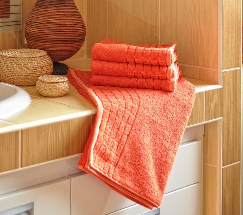 Bambusový ručník - Terakota | 50 x 100 cm