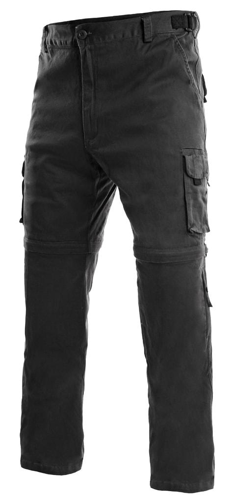 Pánské kalhoty 2v1 VENATOR - Černá | 64