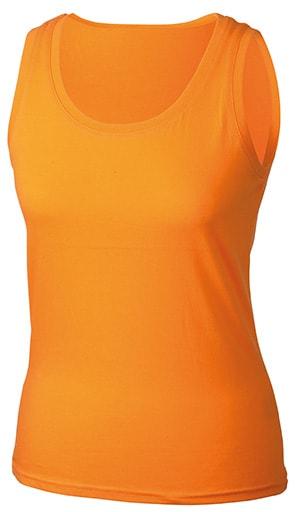 Dámské letní tílko JN902 - Oranžová | XXL