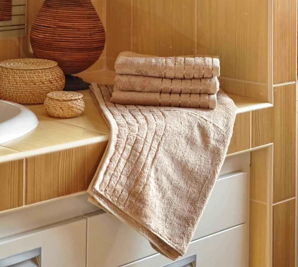 Bambusový ručník - Béžová | 50 x 100 cm