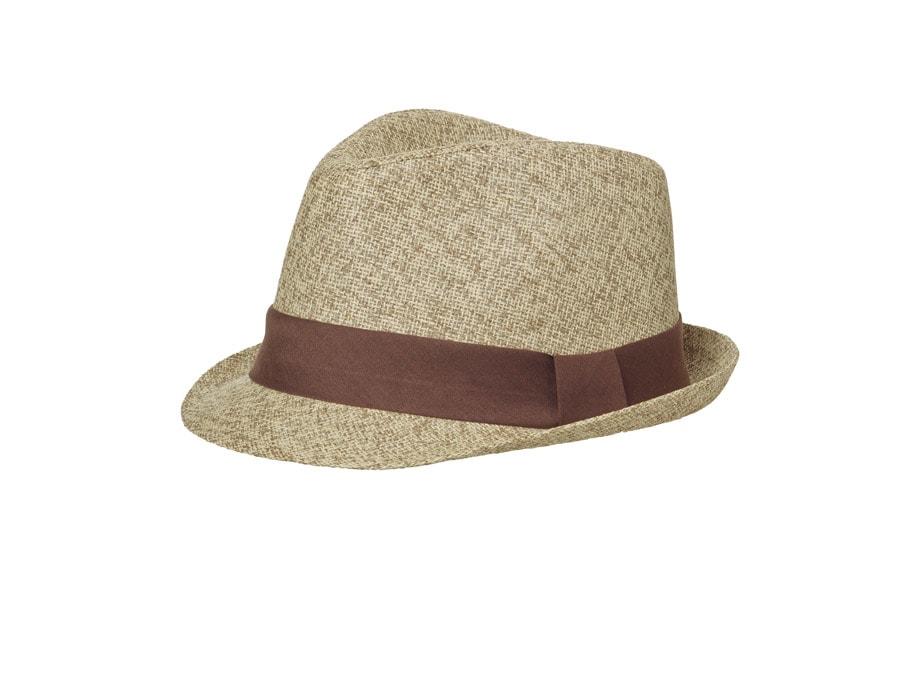 Letní klobouk MB6564 Letní klobouk MB6564 Béžový melír   hnědá 6e4f380a84