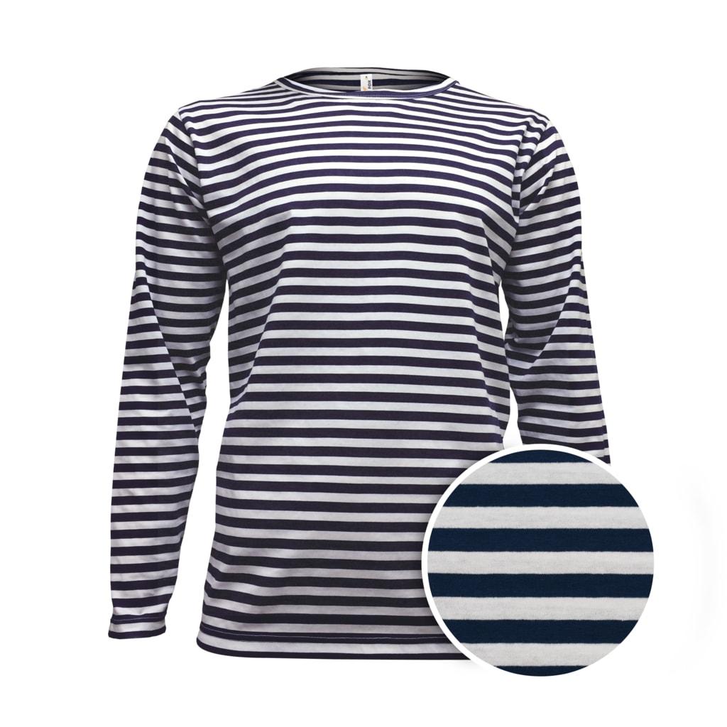 Pánské námořnické tričko s dlouhým rukávem - L