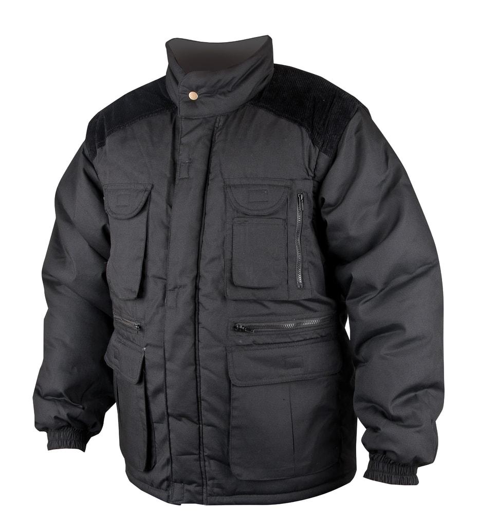 Zimní pracovní bunda Danny - Černá | XXXXL