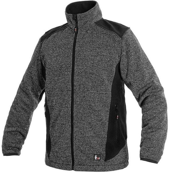 Pánská bunda GARLAND - Šedá / černá | XL