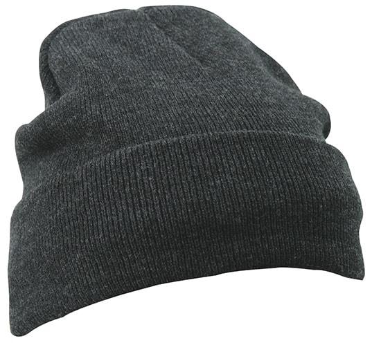 Zimní pletená čepice Thinsulate MB7551 - Tmavě šedý melír