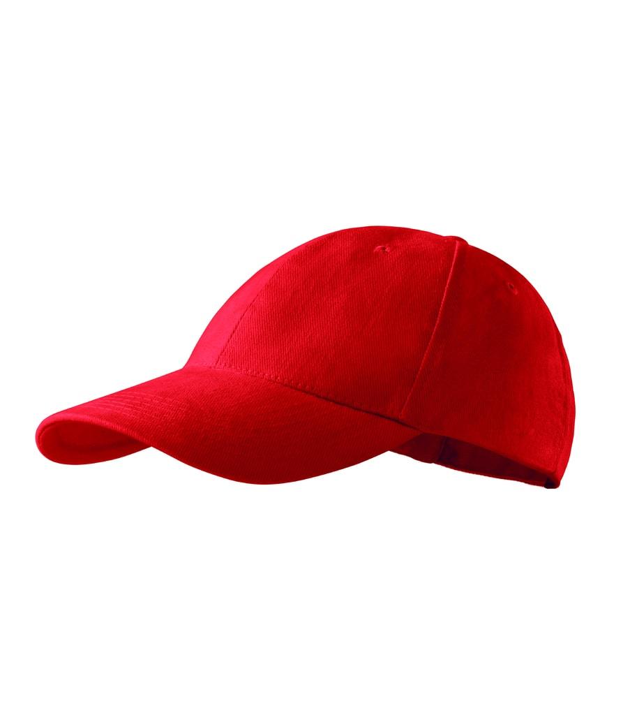 18a9692887c Kšiltovka 6P - Červená