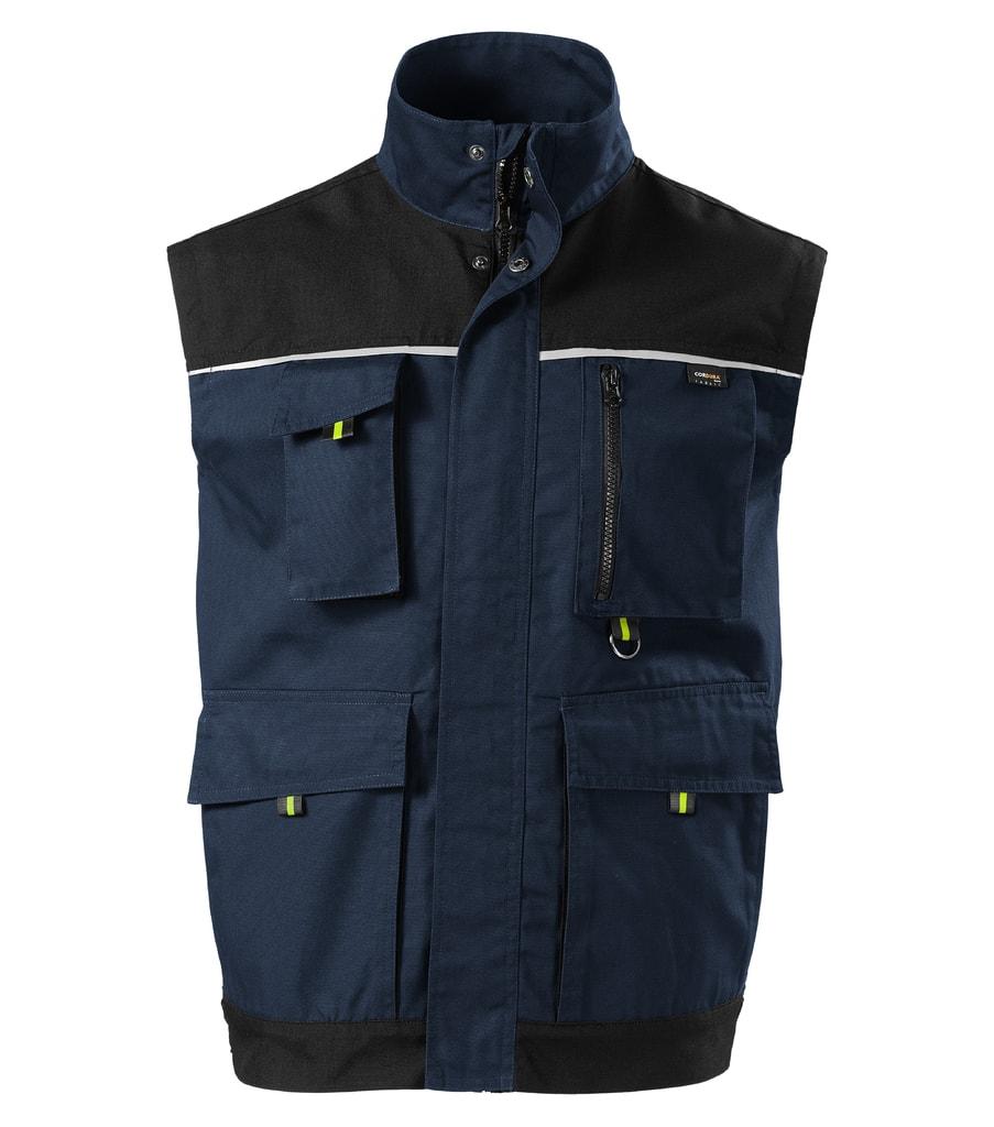 Pracovní vesta RANGER - Námořní modrá   XL