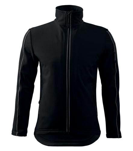 Pánská softshellová bunda Jacket - Černá | XXL