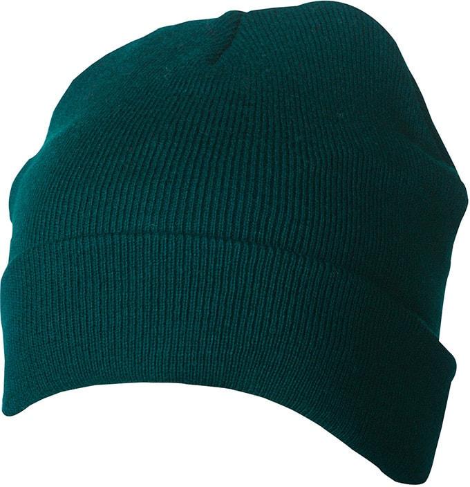 Zimní pletená čepice Thinsulate MB7551 - Tmavě zelená