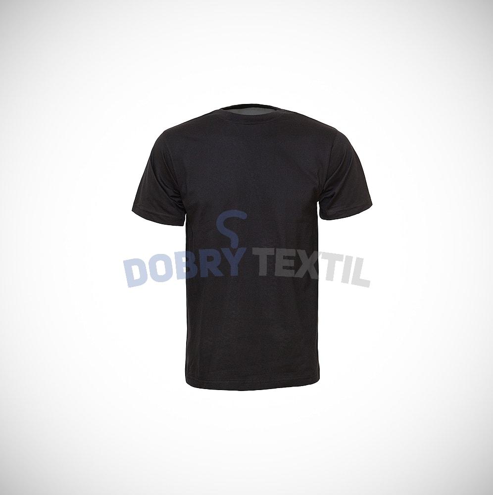 Dětské tričko CLASSIC - Černá | 140
