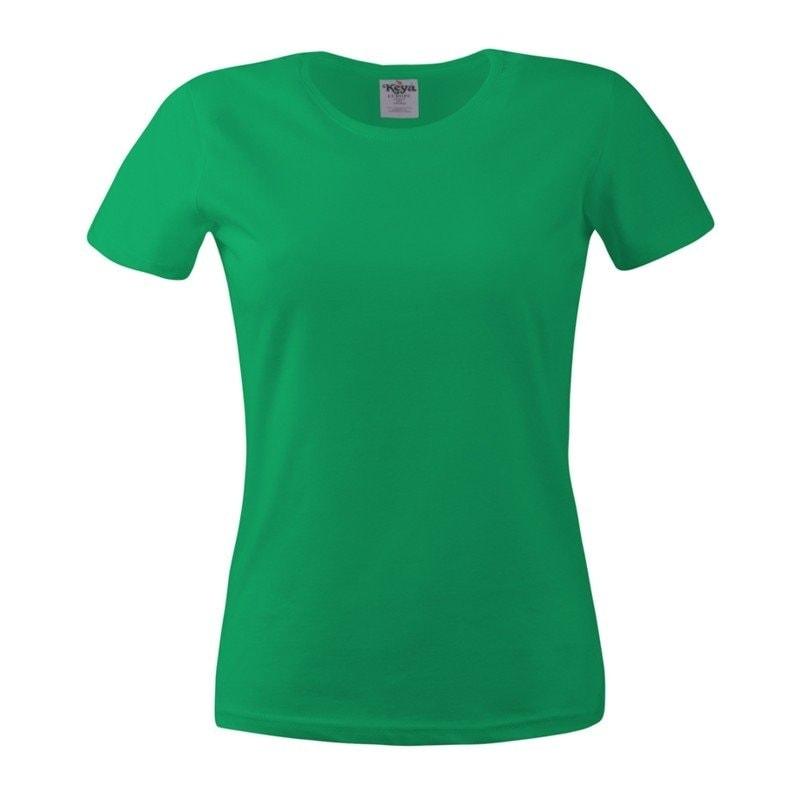 Dámské tričko ECONOMY - Trávově zelená | XL
