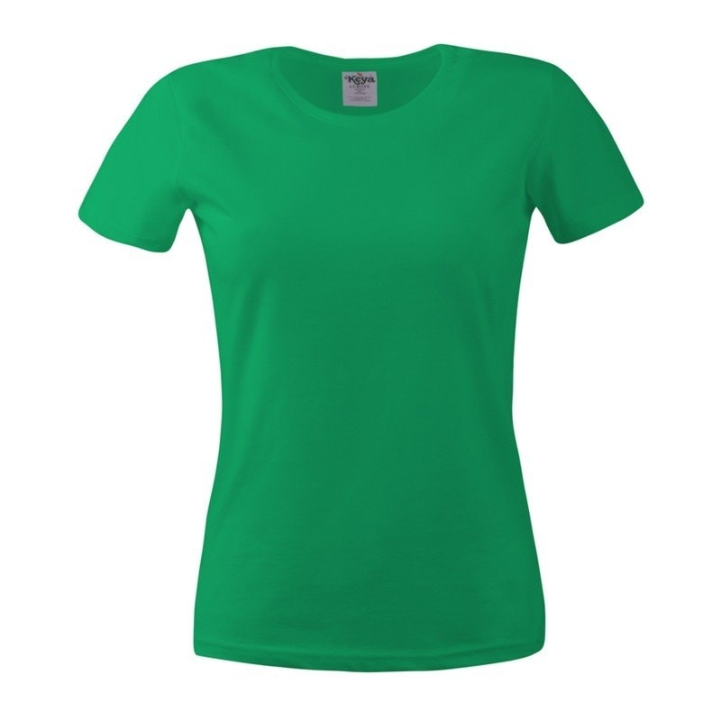 Dámské tričko ECONOMY - Trávově zelená | XXL