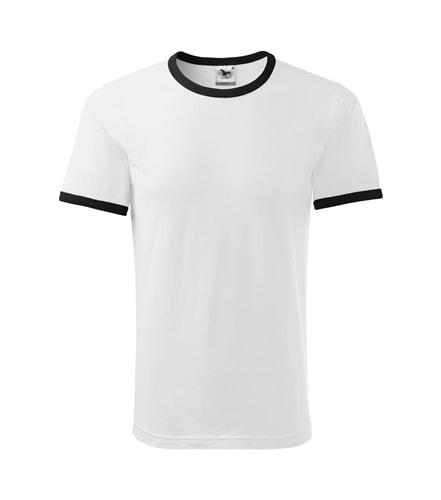 Pánské dvoubarevné tričko Adler - Bílá | XXL