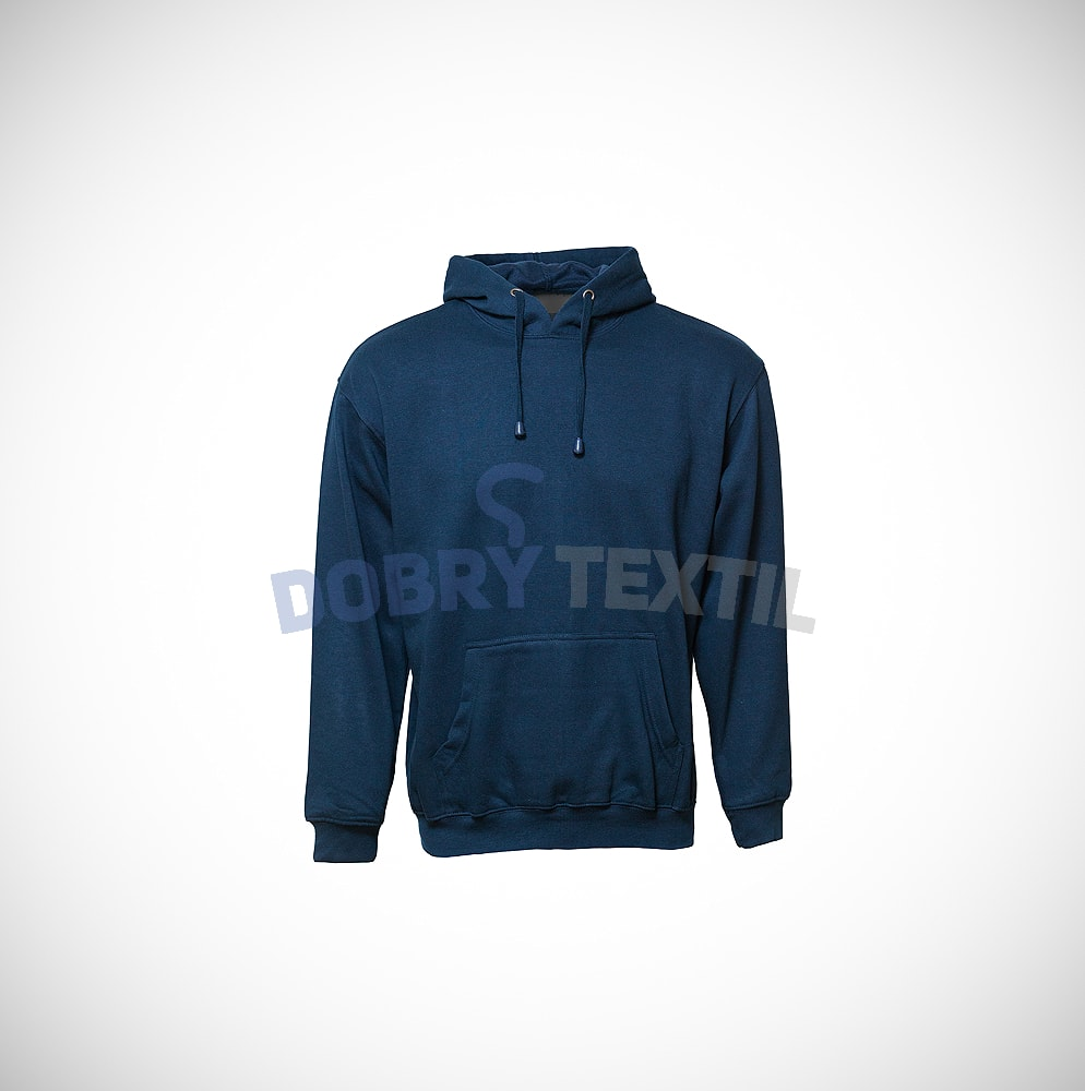 Mikina s kapucí klokanka - Tmavě modrá | XL