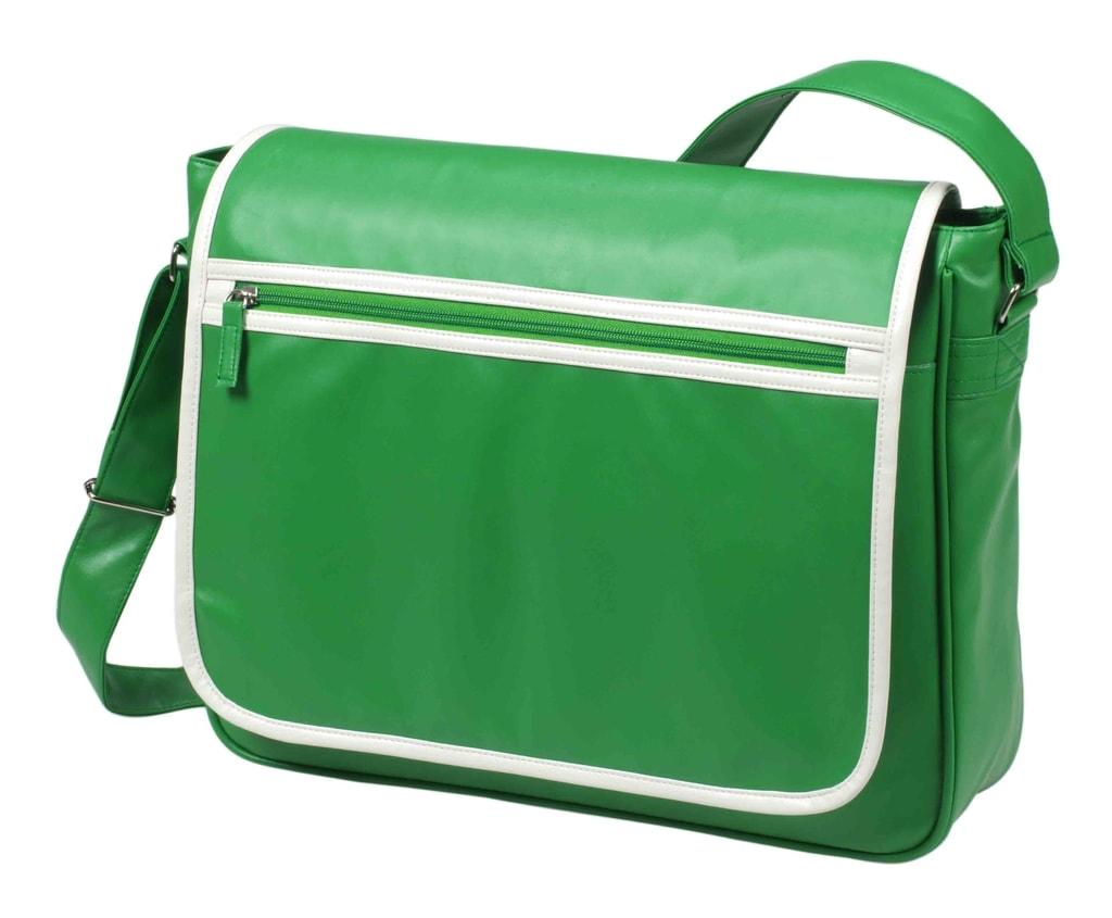 Kurýrní taška přes rameno RETRO - Zelená