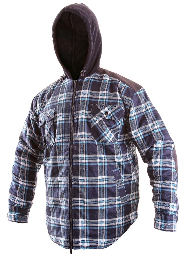 Zateplená flanelová košile TOM WINTER - XXXL