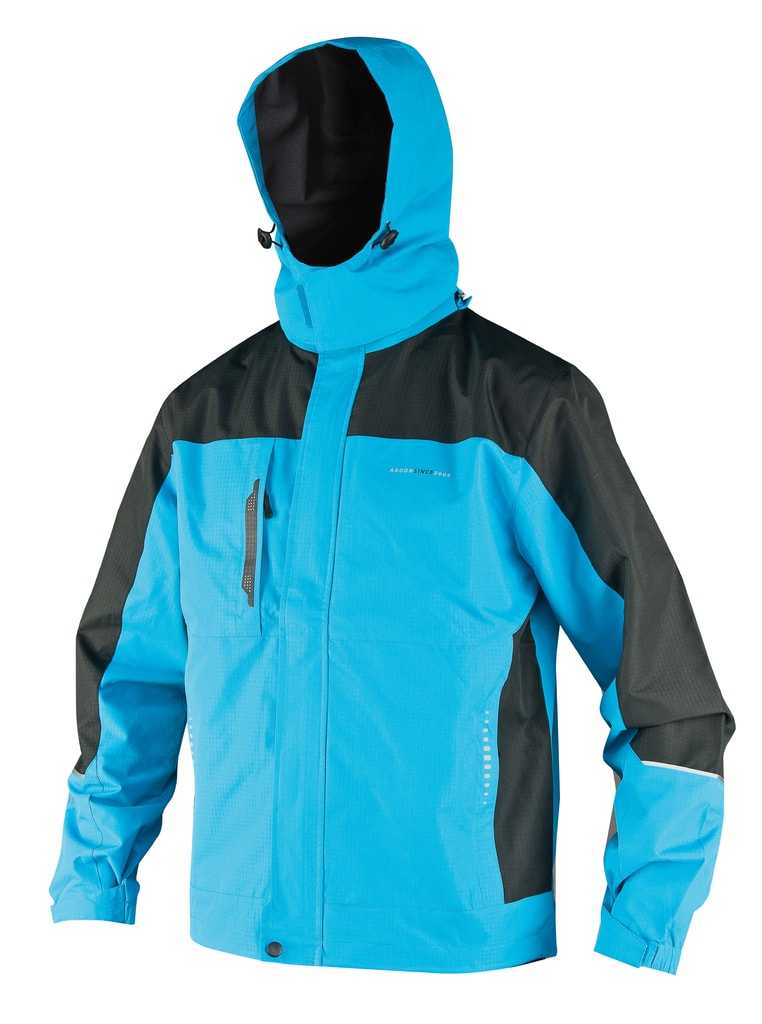 Nepromokavá pánská bunda Felix - Modrá | XL