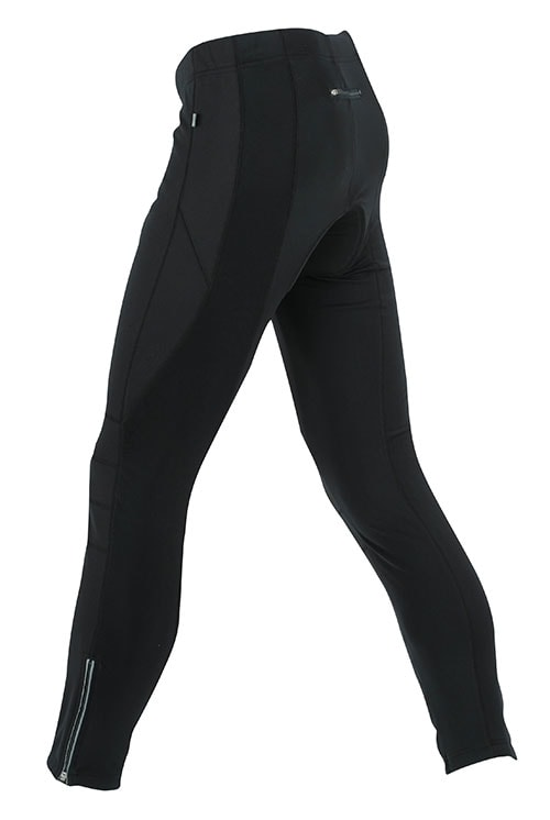 Pánské cyklistické dlouhé kalhoty JN324 - Černá | M