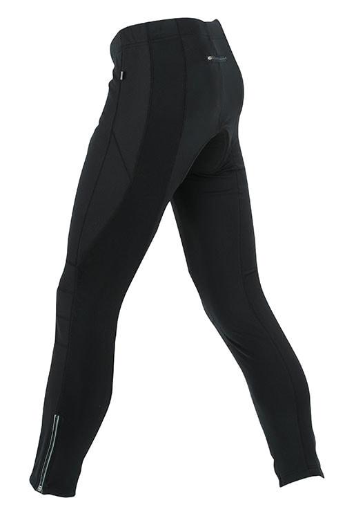 Pánské cyklistické dlouhé kalhoty JN324 - Černá | S