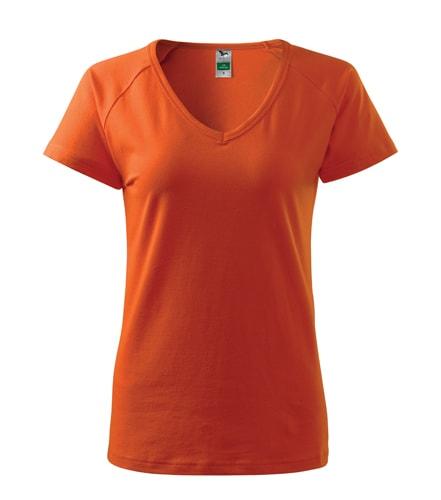 Dámské tričko Dream - Oranžová | S