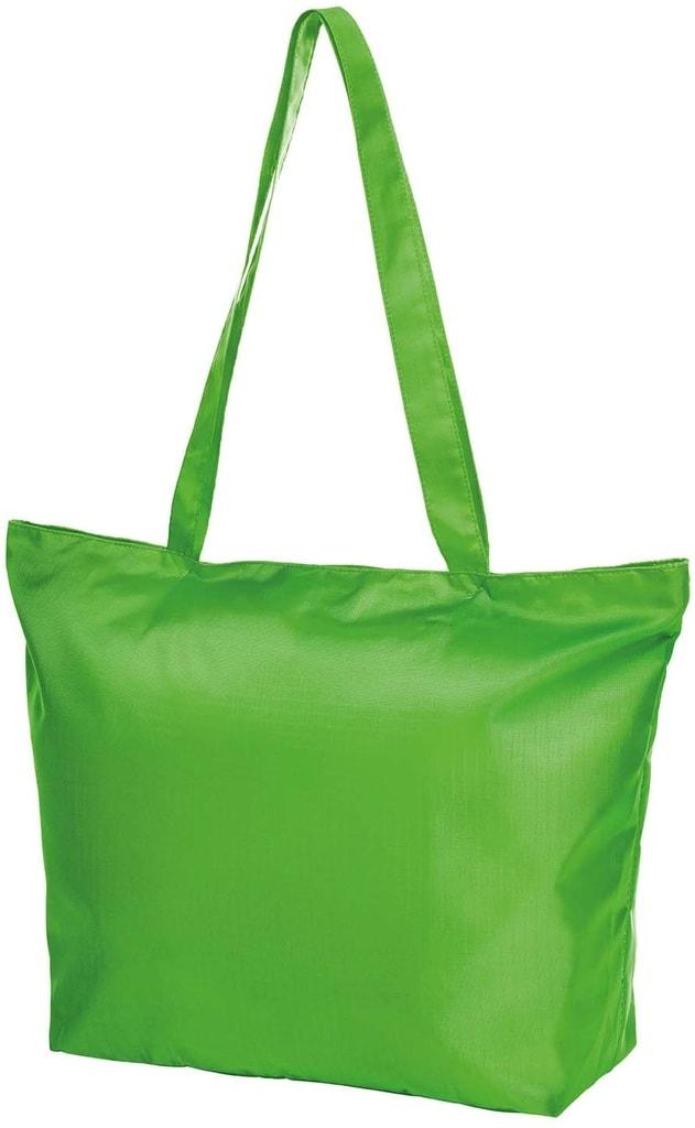Skládací nákupní taška STORE - Apple green