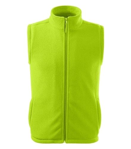 Fleecová vesta Adler - Limetková | S