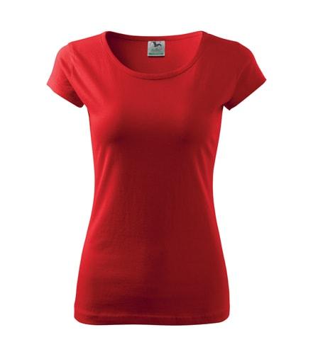 Dámské tričko Pure - Červená | XXL