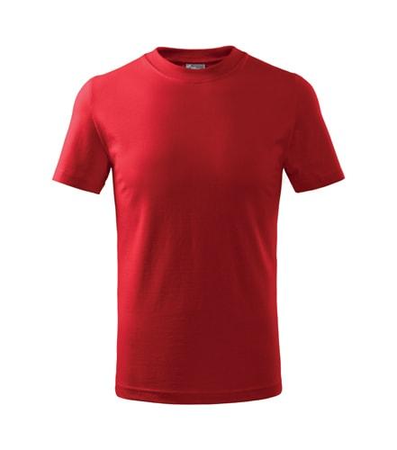 Dětské tričko Basic Adler - Červená | 158 (12 let)