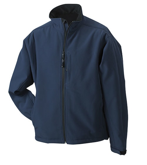Pánská softshellová bunda JN135 - Tmavě modrá | L