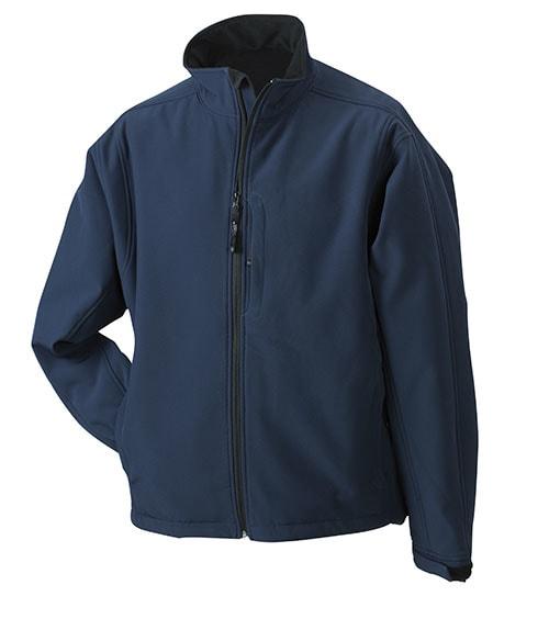 Pánská softshellová bunda JN135 - Tmavě modrá | XXXL