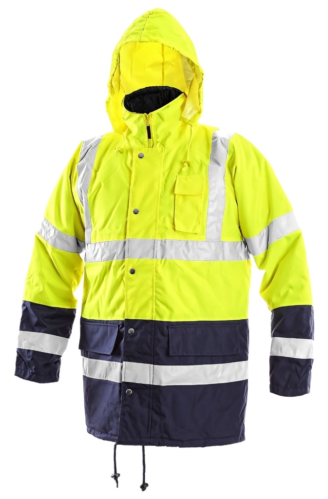 Zimní reflexní bunda OXFORD - L