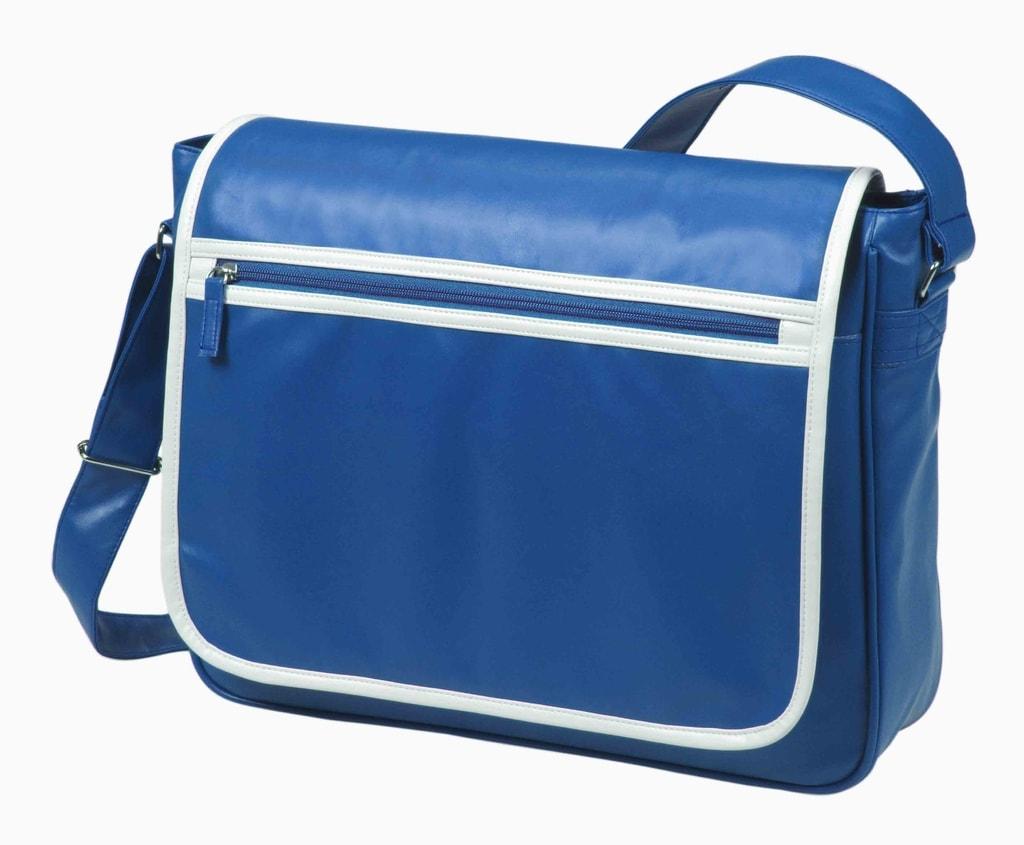 Kurýrní taška přes rameno RETRO - Královská modrá