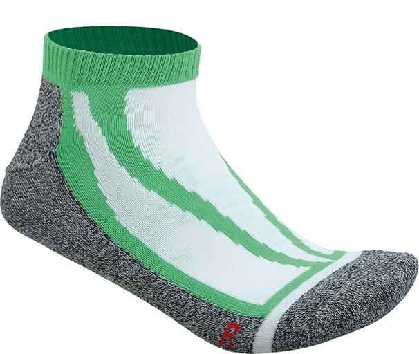 Sportovní ponožky nízké JN209 - Zelená | 45-47