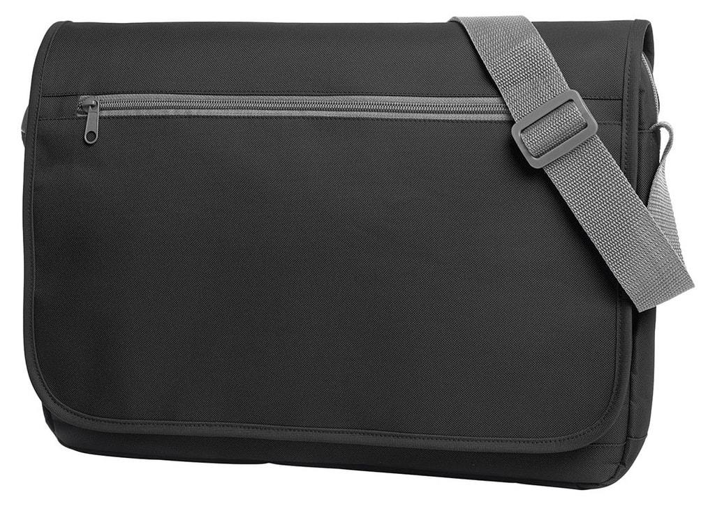 Moderní taška přes rameno SOLUTION - Černá