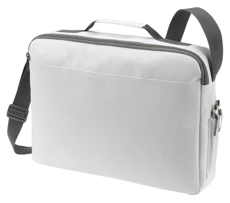 Velká taška na dokumenty BASIC - Bílá