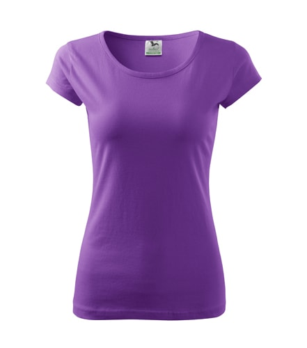 Dámské tričko Pure - Fialová | S