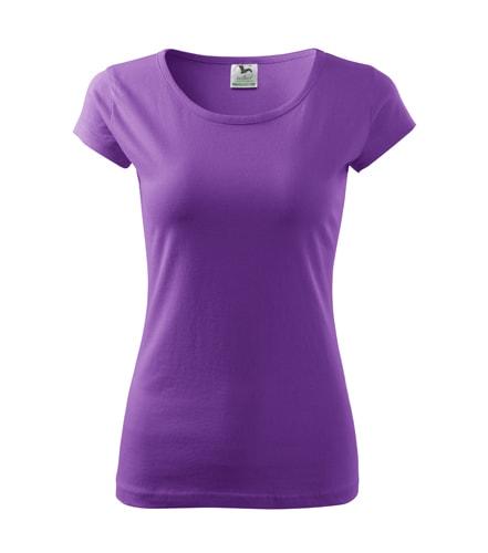 Dámské tričko Pure - Fialová | XL