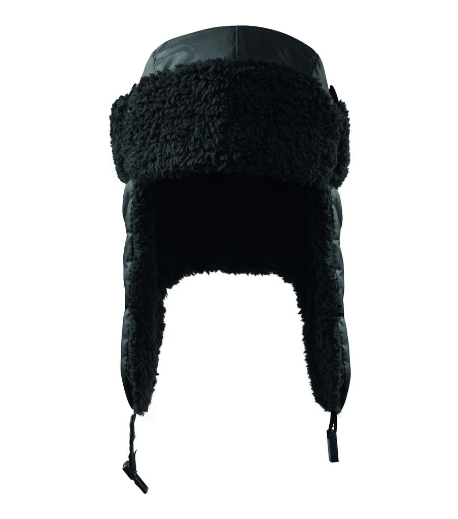 Čepice s ušima Furry - Černá | L