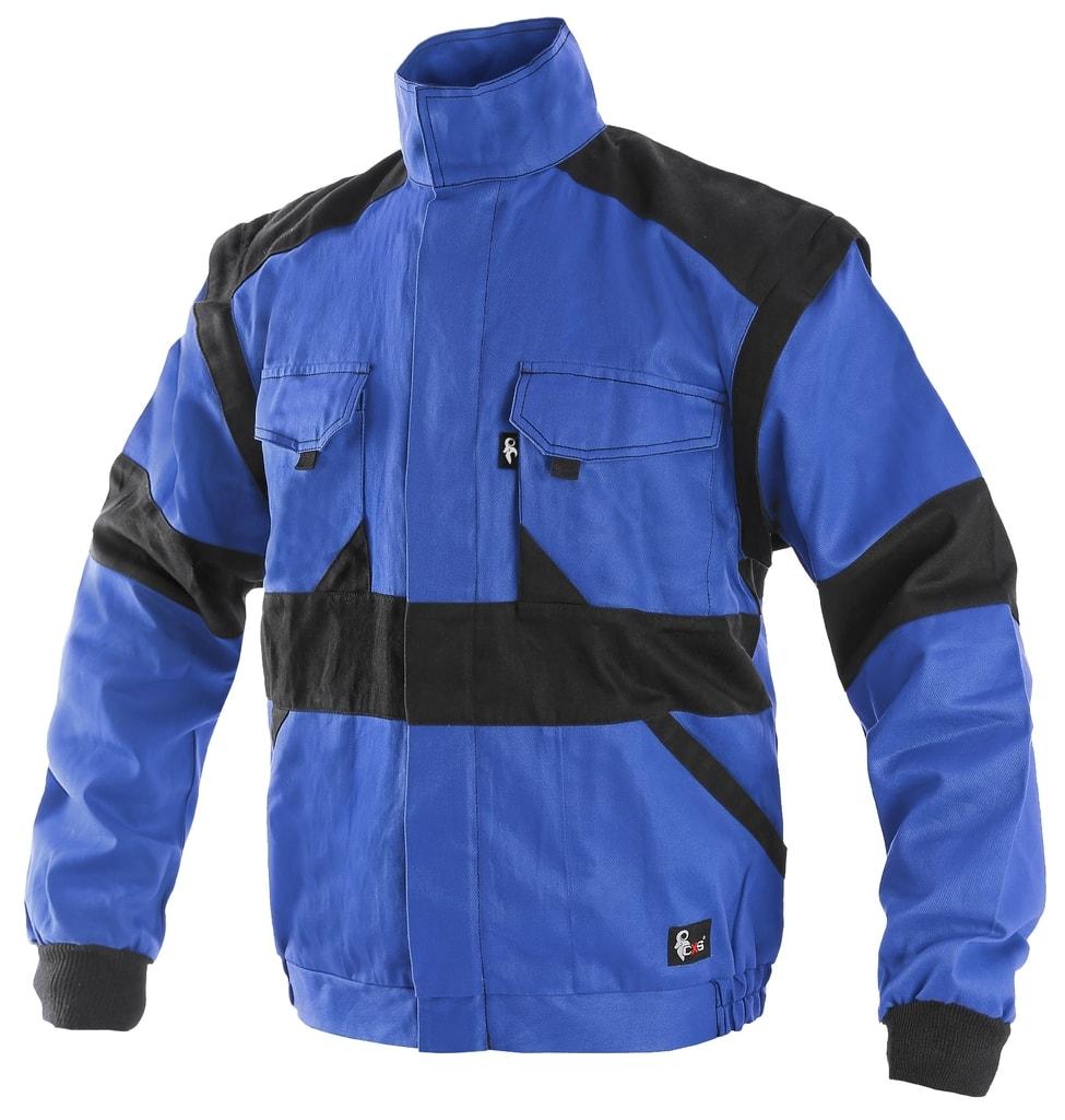 Zimní pracovní bunda CXS LUXY HUGO - Modrá / černá | 58