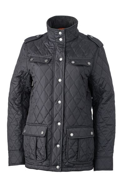 Dámská prošívaná bunda JN1071 - Černá | L