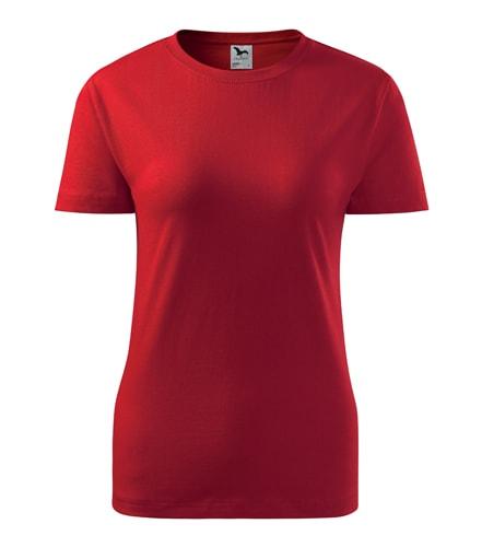 Dámské tričko Basic Adler - Červená | XS