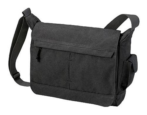 Malá taška přes rameno NATURE - Černá