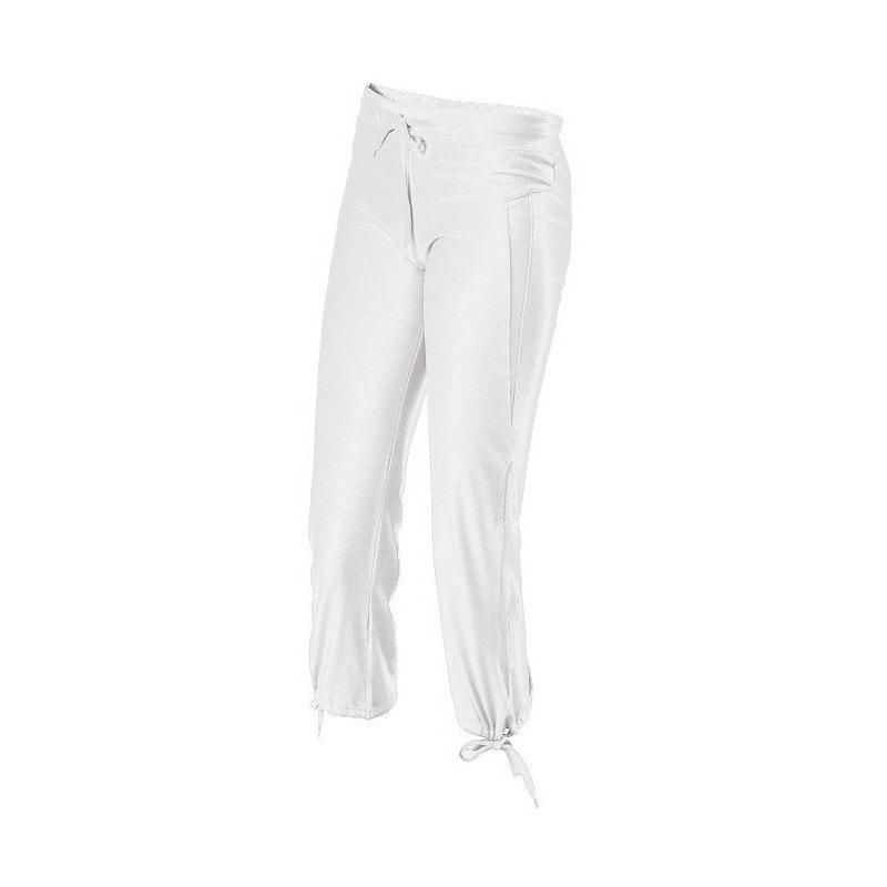 3/4 dámské tepláky - Bílá | XL