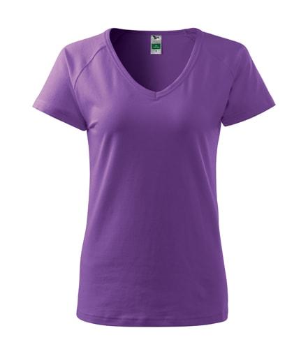 Dámské tričko Dream - Fialová | S