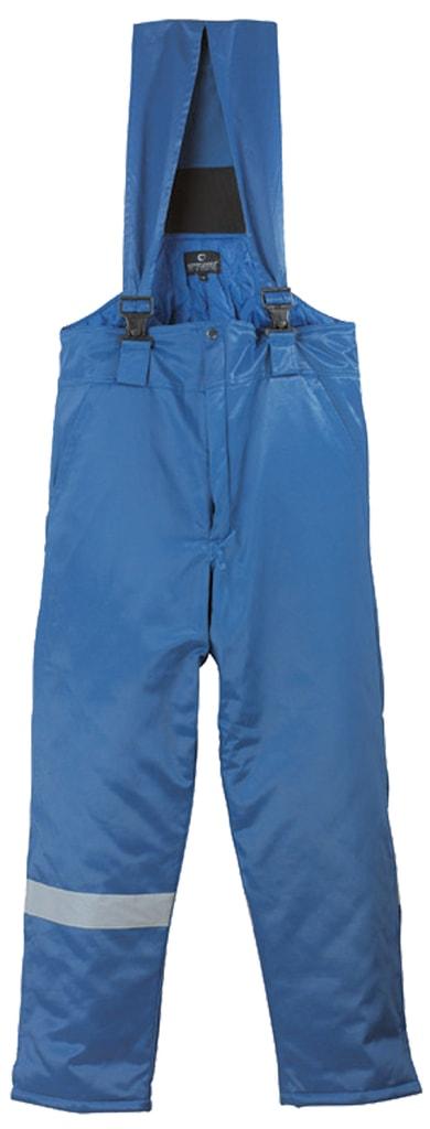 Zimní pracovní kalhoty s laclem Beaver - XXL