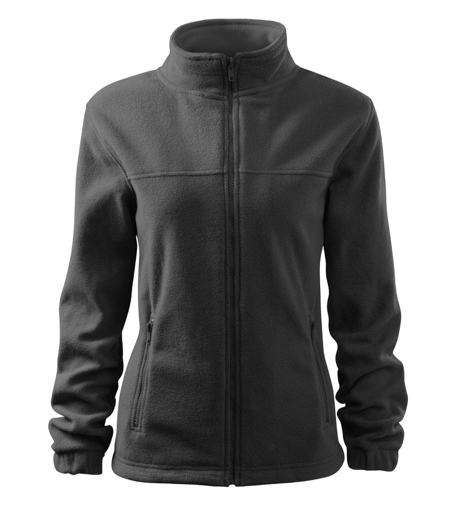 Dámská fleecová mikina Jacket - Ocelově šedá | XL