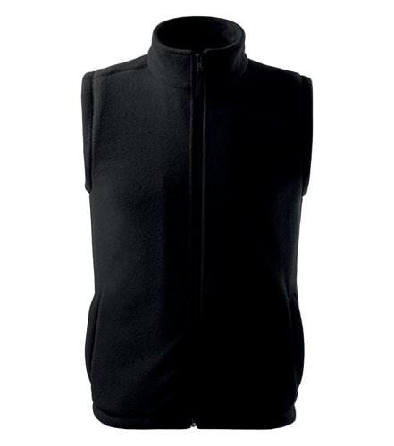 Fleecová vesta Adler - Černá | XS