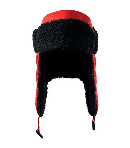 Čepice s ušima Furry - Červená | S