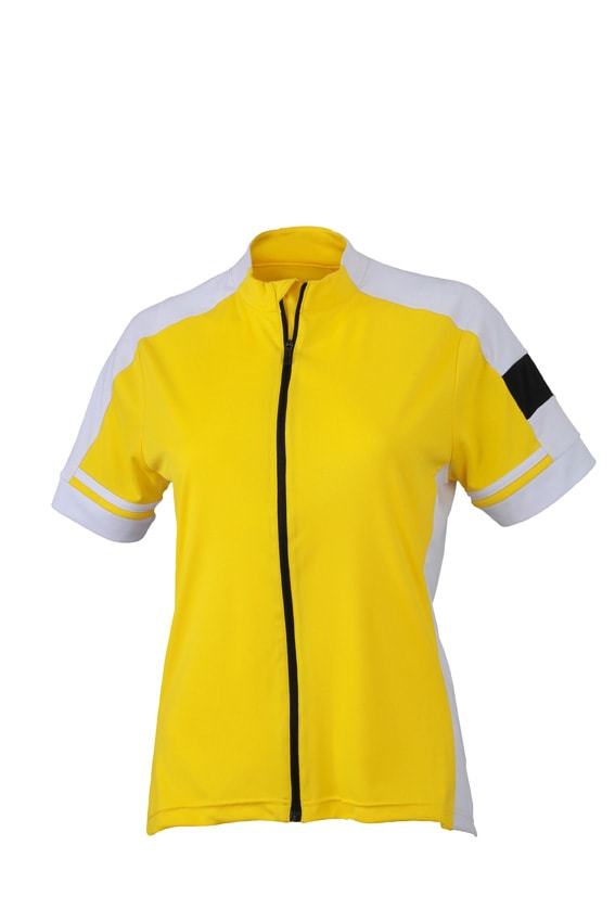 Dámský cyklistický dres JN453 - Slunečně žlutá | XXL
